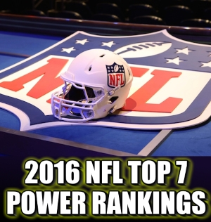 2016 NFL Preseason Power Rankings