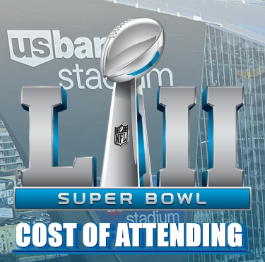 How Much Will Attending Super Bowl LII Cost You