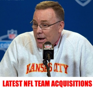 Latest NFL Team Player Acquisition