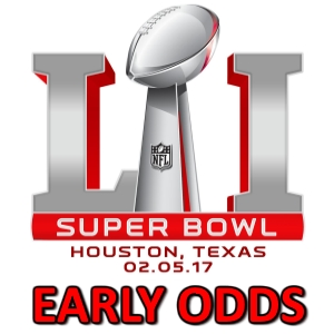 Super Bowl 51 Early Odds – Falcons vs. Patriots